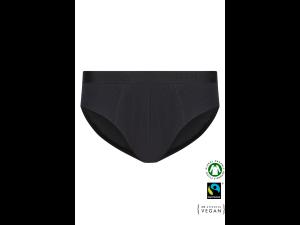 EKO Bombažne Moške Slip spodnje hlače /basicfit - ČRNA
