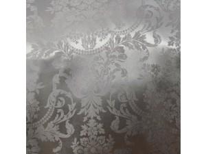 Žakard Svileno blago, debelejša svila - SREBRNA - (širina 280 cm)