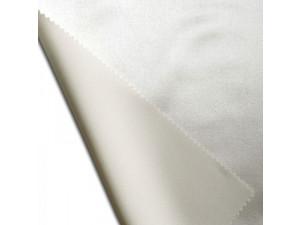 Svilena ravna rjuha, debelejša svila - NATUR - sijaj/mat