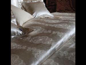 SOGNI D'ORO Svilena ravna rjuha - Žakard debelejša svila / tussah svila