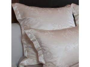Žakard Svileno blago, debelejša svila - NATUR - (širina 280 cm)