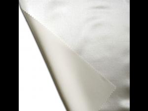 Saten Svileno blago, debelejša svila - NATUR - sijaj/mat (širina 280 cm)