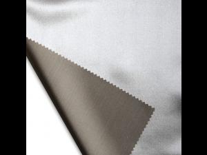 Saten Svileno blago, Srednje težka svila - RJAVA - sijaj/mat (širina 280 cm) / 28 momme (mm)