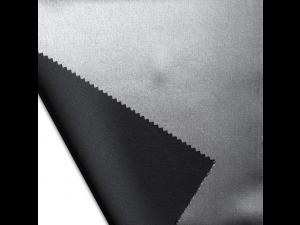 Saten Svileno blago, debelejša svila - SREBRNA ali ČRNA - sijaj/mat (širina 280 cm)