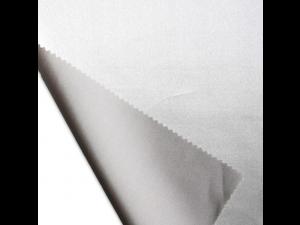 Saten Svileno blago, Srednje težka svila - SREBRNA - sijaj/mat (širina 280 cm) / 28 momme (mm)