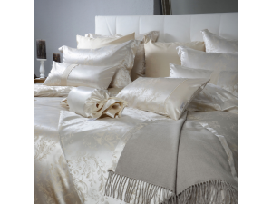 HERITAGE Svilena posteljnina - Žakard debelejša svila
