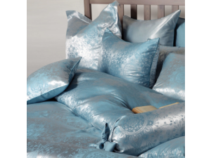 DOLCE TOURAIZE Svilena posteljnina - Žakard težka svila / 31 momme (mm)