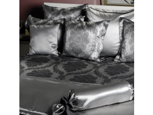 ROYAL Svilena posteljnina - Žakard težka svila / 31 momme (mm)