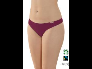 EKO Bombažne Ženske String spodnje hlačke /bodyfit - VIJOLIČNA