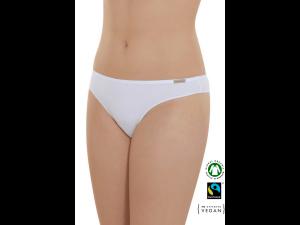 EKO Bombažne Ženske String spodnje hlačke /bodyfit - BELA
