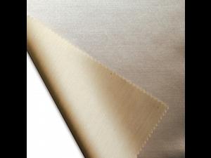 Svilena ravna rjuha, debelejša tussah svila - NATUR - sijaj/mat