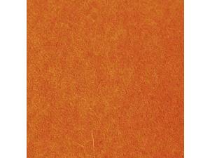 Volneni filc, blago, ORANŽNA - 3 mm, širina 45 cm