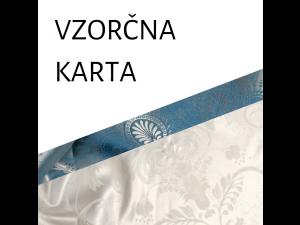 VZORČNA KARTA - Svilena posteljnina
