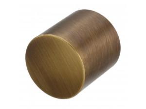 Kovinski zaključek - za vrv Ø 30 ali 40  mm - BRONZAN