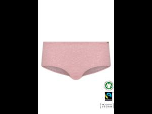 EKO Bombažne Ženske Boxer spodnje hlačke /bodyfit - ROZA MELANGE