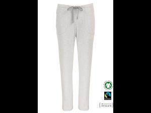 EKO Bombažna Ženske spalne hlače /basic - SIVA