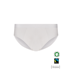 EKO Bombažne Moške Slip spodnje hlače /basicfit - BELA