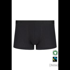 EKO Bombažne Moške Boxer spodnje hlače /basicfit - ČRNA