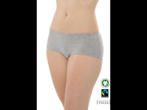 EKO Bombažne Ženske Boxer spodnje hlačke /bodyfit - SIVA