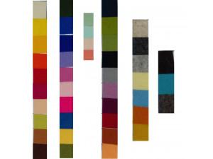Volneni Oblačilni filc, VZORČNA KARTA - za 1,5 mm, širina 180 cm
