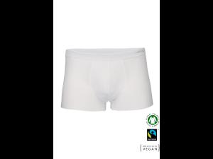 EKO Bombažne Moške Boxer spodnje hlače /elegant - BELA