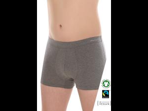 EKO Bombažne Moške Boxer spodnje hlače /elegant - SIVA