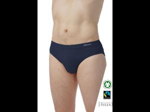 EKO Bombažne Moške Slip spodnje hlače /elegant - MODRA