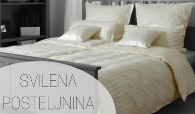Svilena posteljnina