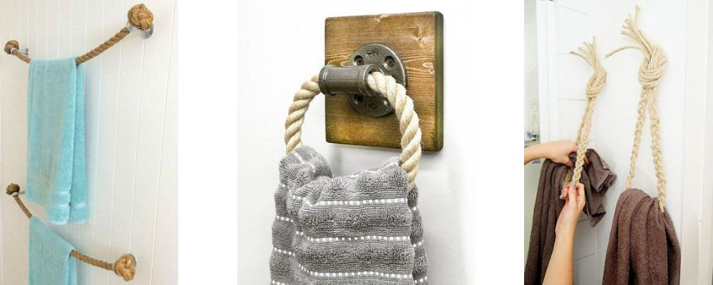 Držalo za brisače iz vrvi