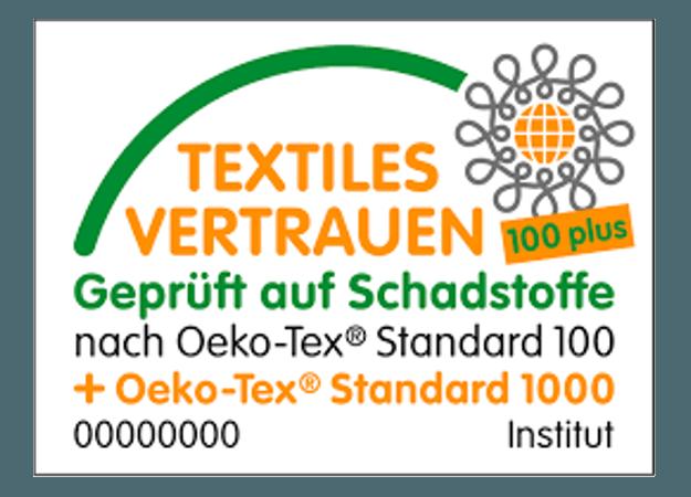 Öko Tex Standard 100 Certificat